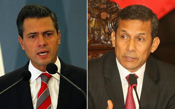 Ollanta Humala, Perú, México, Enrique Peña Nieto