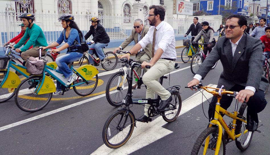 Municipalidad de Lima, Bicicleta