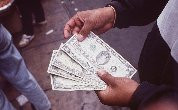 Tipo de cambio, Dólar, Nuevo sol,