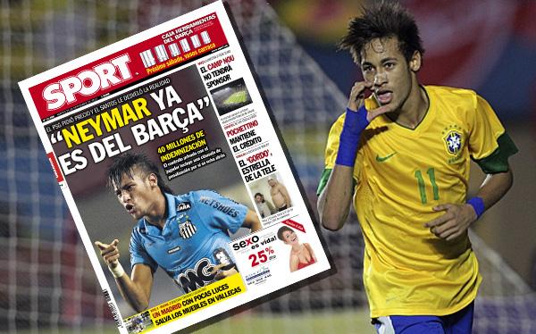 FC Barcelona, Liga española, Fútbol español, Neymar, Santos FC