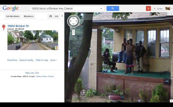 Google Maps, Street View