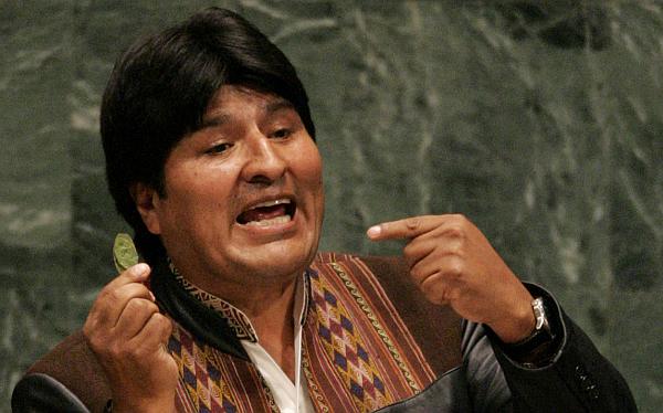 Barack Obama, Evo Morales, Bolivia, ONU, Libia, Estados Unidos