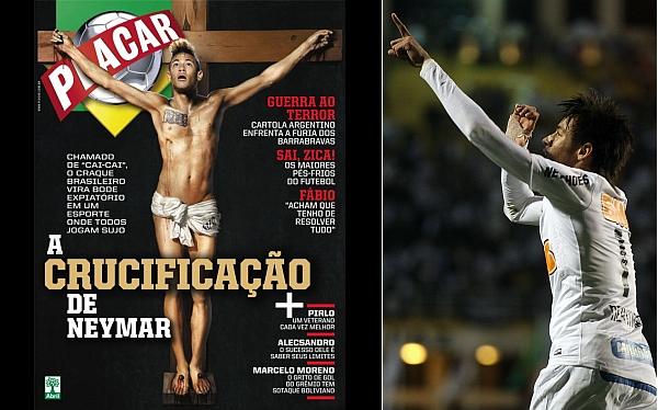 Neymar, Iglesia Católica, Santos FC, Brasil,  Mauricio de Barros