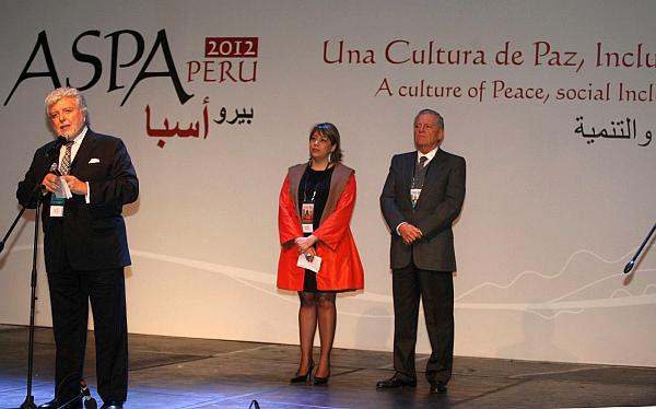 Ollanta Humala, Unasur, Ministerio de Relaciones Exteriores, Farid Kahhat, III Cumbre ASPA, Augusto Thornberry