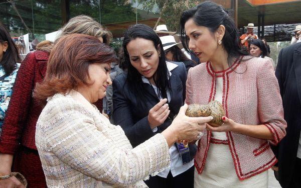Ollanta Humala, , Nadine Heredia, III Cumbre ASPA
