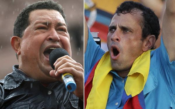 Hugo Chávez, Henrique Capriles