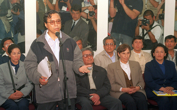 Abimael Guzmán, MRTA, Osmán Morote Barrionuevo, Movadef, Margot Liendo Gil, Terrorismo, Sendero Luminoso