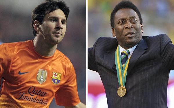 Lionel Messi está a cuatro goles de igualar récord histórico de Pelé