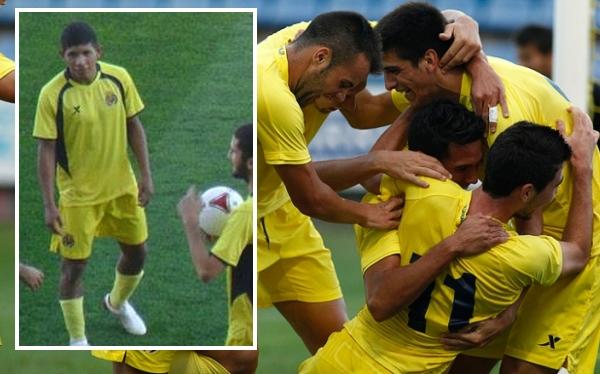 Edison Flores colaboró en victoria 3-1 del Villarreal B ante Binissalem
