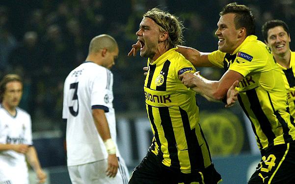 Real Madrid perdió 2-1 ante Borussia Dortmund por la Champions League