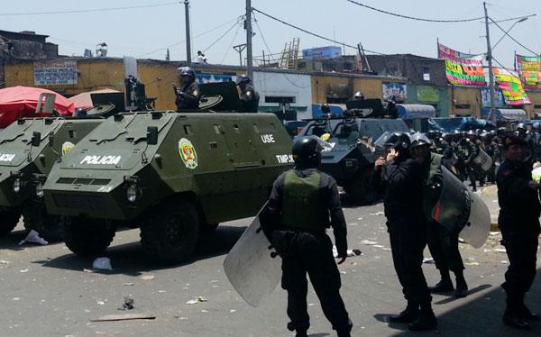 """""""La Policía se quedará en La Parada el tiempo que sea necesario"""""""