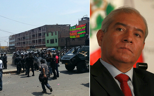 """Ministro del Interior negó saqueos: """"Lima no ha sido descuidada"""""""