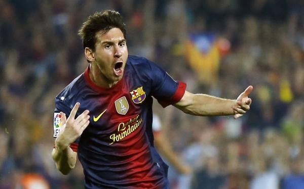 Lionel Messi superó los 300 goles en su carrera profesional