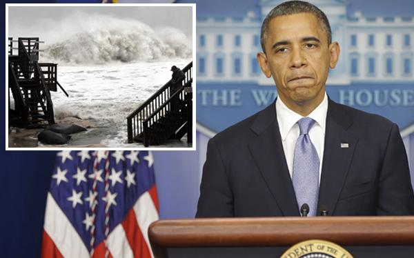 Barack Obama sobre huracán Sandy: