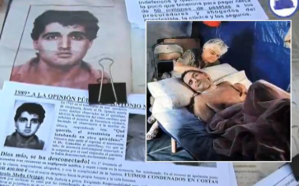 Murió español que estuvo en coma 23 años por una negligencia médica