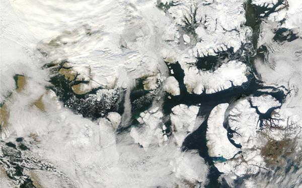 Calentamiento global: se derriten los 'hielos perpetuos' del Ártico