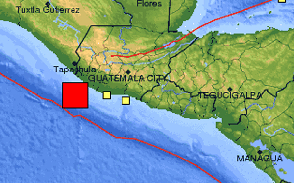 Terremoto en Guatemala: sismo de 7,4 grados Richter remeció sus costas