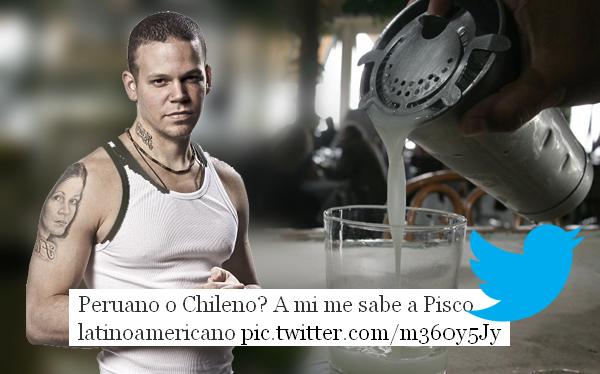 Vocalista de Calle 13 causó polémica por decir que el pisco es