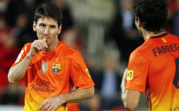 Barcelona venció 4-2 al Mallorca con un doblete de Messi para la historia