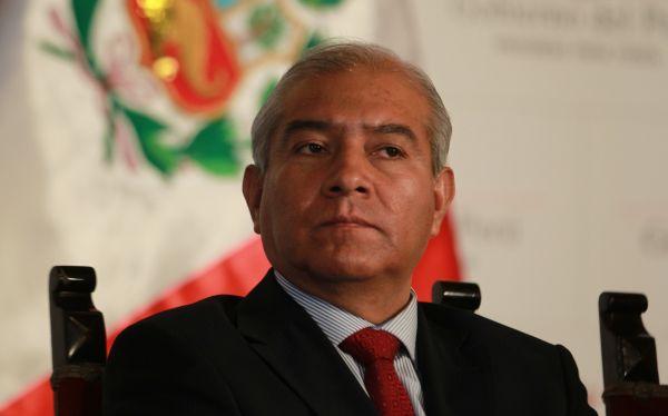 Militantes del Movadef serán denunciados por terrorismo, anunció el ministro del Interior