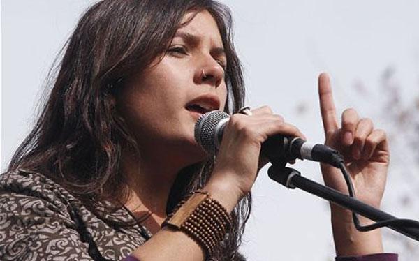 Camila Vallejo ya es precandidata al Congreso chileno