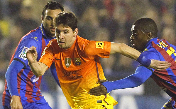 Lionel Messi sumó 82 goles y está a tres del récord de Gerd Müller