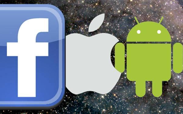 Facebook se alía con iTunes de Apple pero hace que sus empleados usen Android de Google