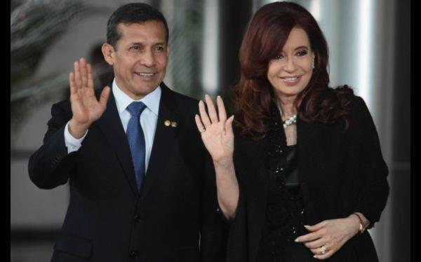 Presidentes Humala y Fernández buscan hoy fortalecer relación bilateral
