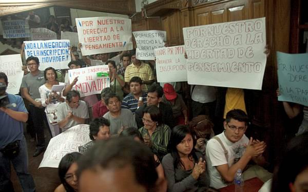 """Asamblea Nacional de Rectores: """"El Movadef no tiene fuerza en las universidades"""""""