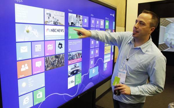 Windows 8 logró 40 millones de licencias y crackearon su tienda