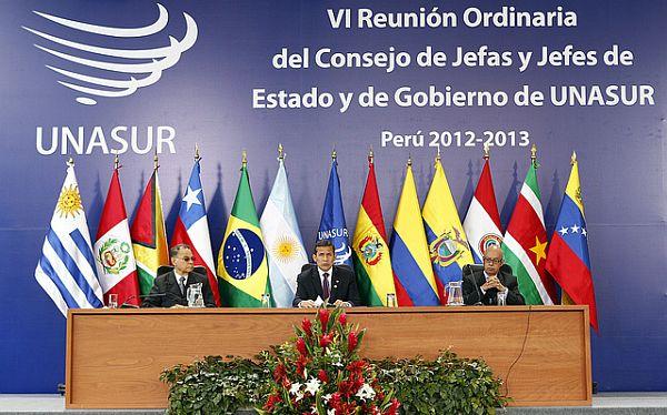 Unasur acordó promover ciudadanía sudamericana, integración física y apoyo contra el terrorismo