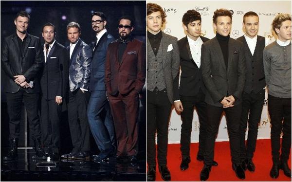Backstreet Boys recomienda a los One Direction que se relajen
