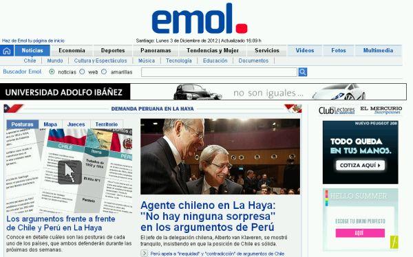 Presentación peruana en La Haya: así informaron los medios de Chile