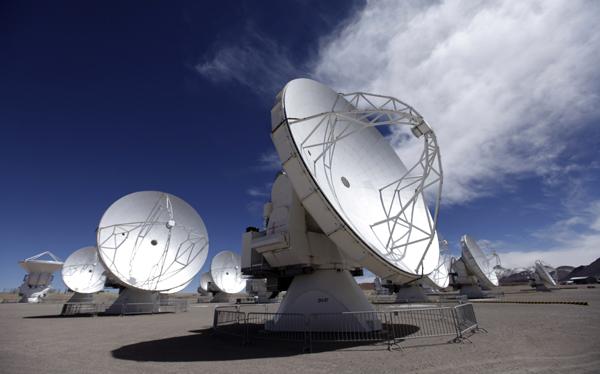 El radiotelescopio más grande del mundo estará terminado a finales del 2013