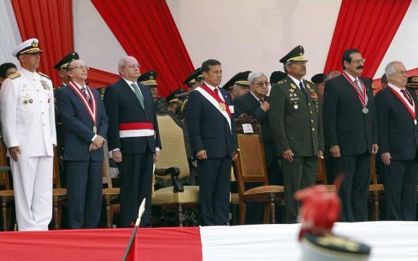 Humala pidió al PJ no emitir acciones de amparo para militares separados