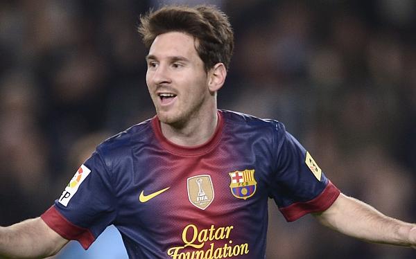Lionel Messi fue considerado como el mejor jugador del año 2012