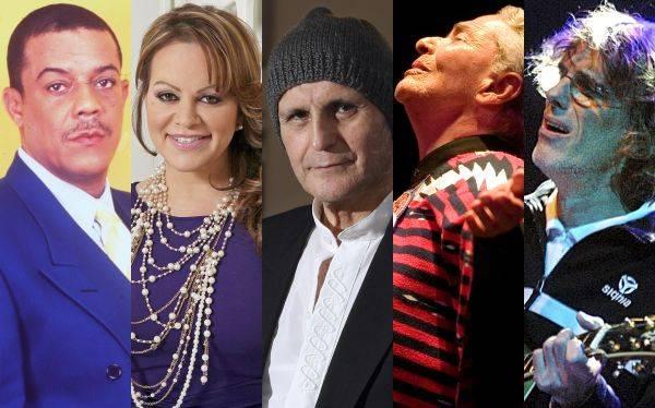 Cinco grandes cantantes que perdió la música en español en el 2012