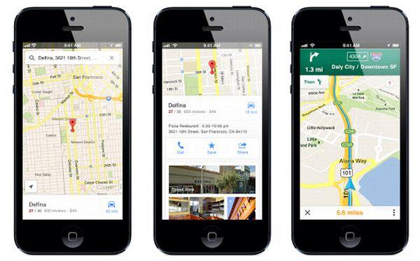 Google Maps para iPhone fue descargado 10 millones de veces en dos días