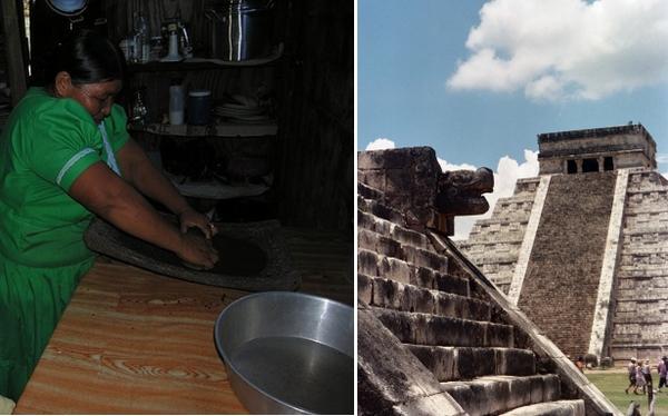 El legado gastronómico de los mayas: la primera goma de mascar y el cacao