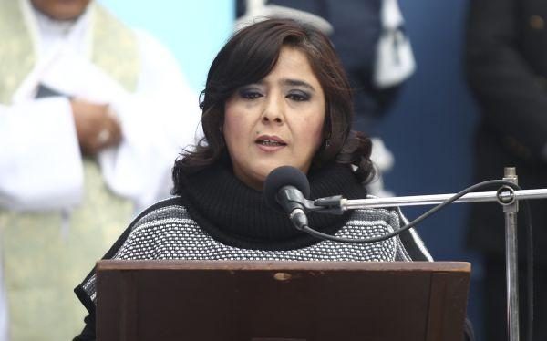 Ana Jara rechazó aumento de congresistas: