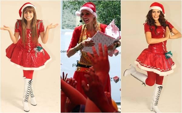 Las artistas que le sacaron provecho a la animación de eventos navideños
