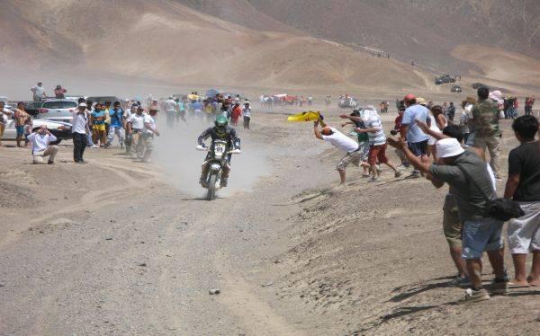 Dakar 2013: piden a público no poner en riesgo zonas paleontológicas