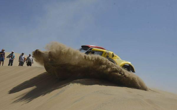 El Rally Dakar llega a Arequipa en la etapa de hoy