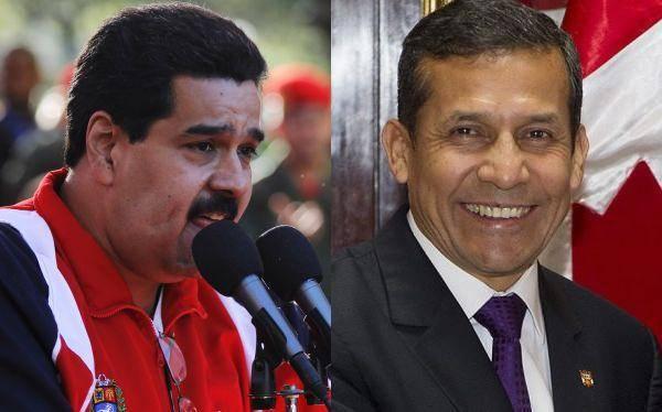 """Maduro saludó visita de Ollanta Humala a Cuba y lo llamó """"compañero de lucha"""""""