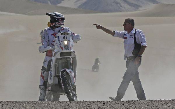 Etienne Lavigne sobre el Dakar en el Perú: