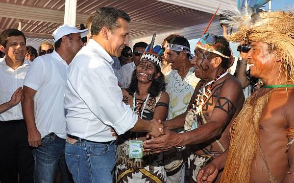 Humala inauguró 'Tambo' en Iquitos: