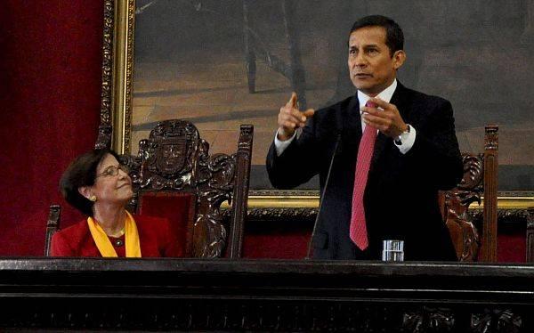 Ollanta Humala aseguró que el gobierno apoyará a la Municipalidad de Lima