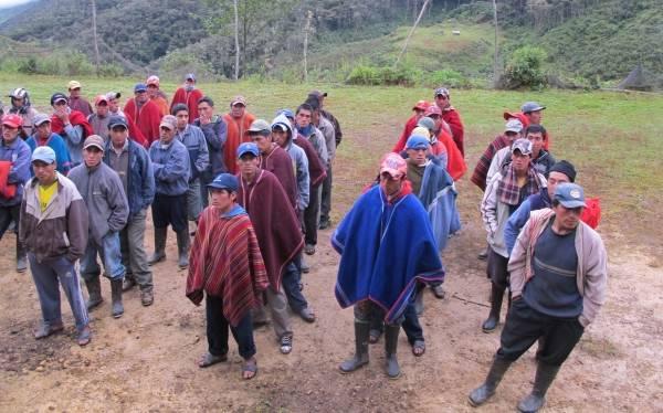 Cañaris: comuneros levantan protestas pero amenazan con paro regional