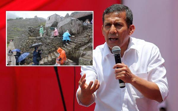 """Humala: """"No respaldamos alerta de embajada estadounidense sobre Cusco"""""""
