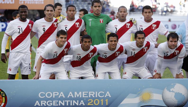 Peru before the third place match at the Copa América; photo: peru.com